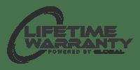 Lifetime Warranty Powered by Global